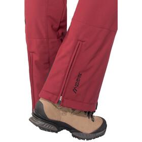 Maier Sports Marie - Pantalones Mujer - rojo